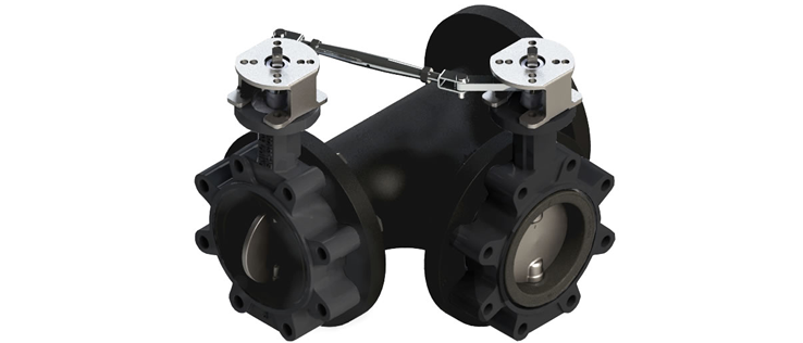Siral Butterfly Valve